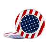 SS26S2 - Set of 2 - Enamelware Stars and Stripes - Chargers