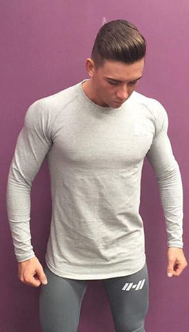 Duraflex Icon Long Sleeve Fit - Grey