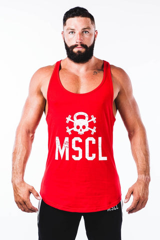 Original Logo Stringer Vest - Flame Red