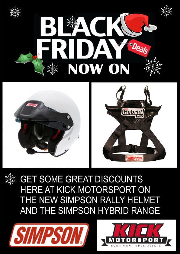 BLACK FRIDAY DEALS AT KICK MOTORSPORT
