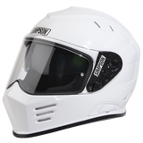 SIMPSON VENOM MOTORCYCLE HELMET ECE CERTIFIED UK ROAD LEGAL