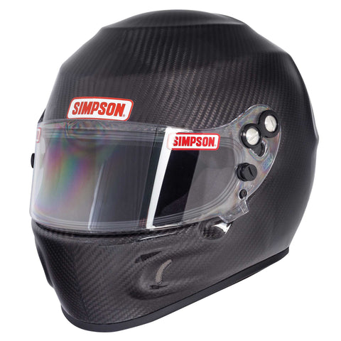 Simpson Devil Ray Carbon Helmet Snell 2010/FIA 8858