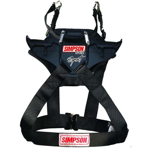 Simpson Hybrid Sport Youth/Xsmall/Child Head & Neck Restraint