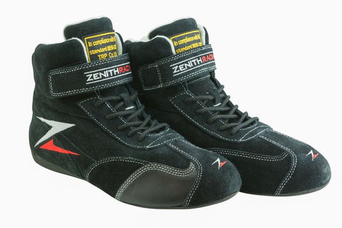 Zenith Racing Suede Boots FIA