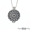 Daisy Flower Diffuser Necklace