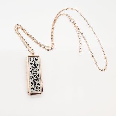 Rectangle Essential Oil Diffuser Necklace - Options