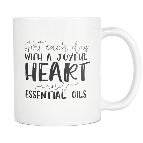 Joyful Heart & Essential Oils Mug