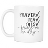 Prayer, Tea, Essential Oils Mug - Drops of Joy Jewelry - 2