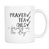 Prayer, Tea, Essential Oils Mug - Drops of Joy Jewelry - 1