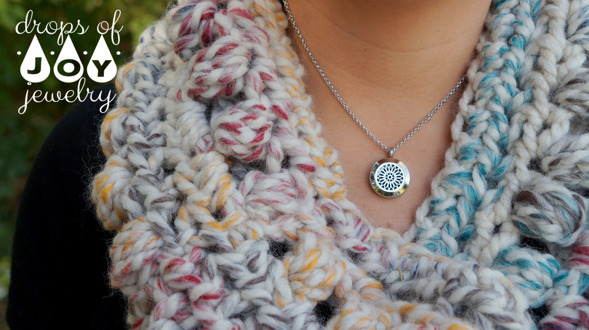 Diffuser Necklace - Bloom - Drops of Joy Jewelry - 2