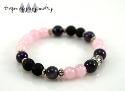 Diffuser Bracelet - Drops of Joy Jewelry - Aromatherapy jewelry