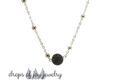 essential oil choker necklace