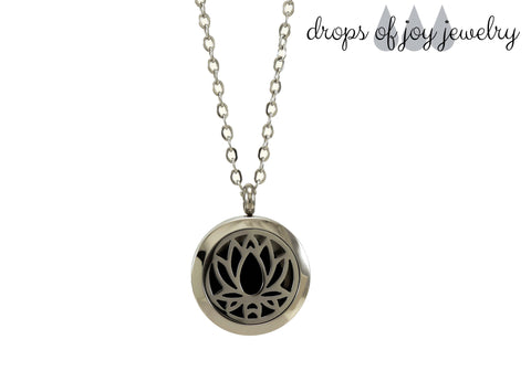 Custom Signature Sunburst Diffuser Necklace