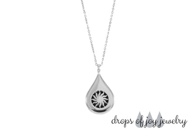 Essential Oil Drop Diffuser Necklace
