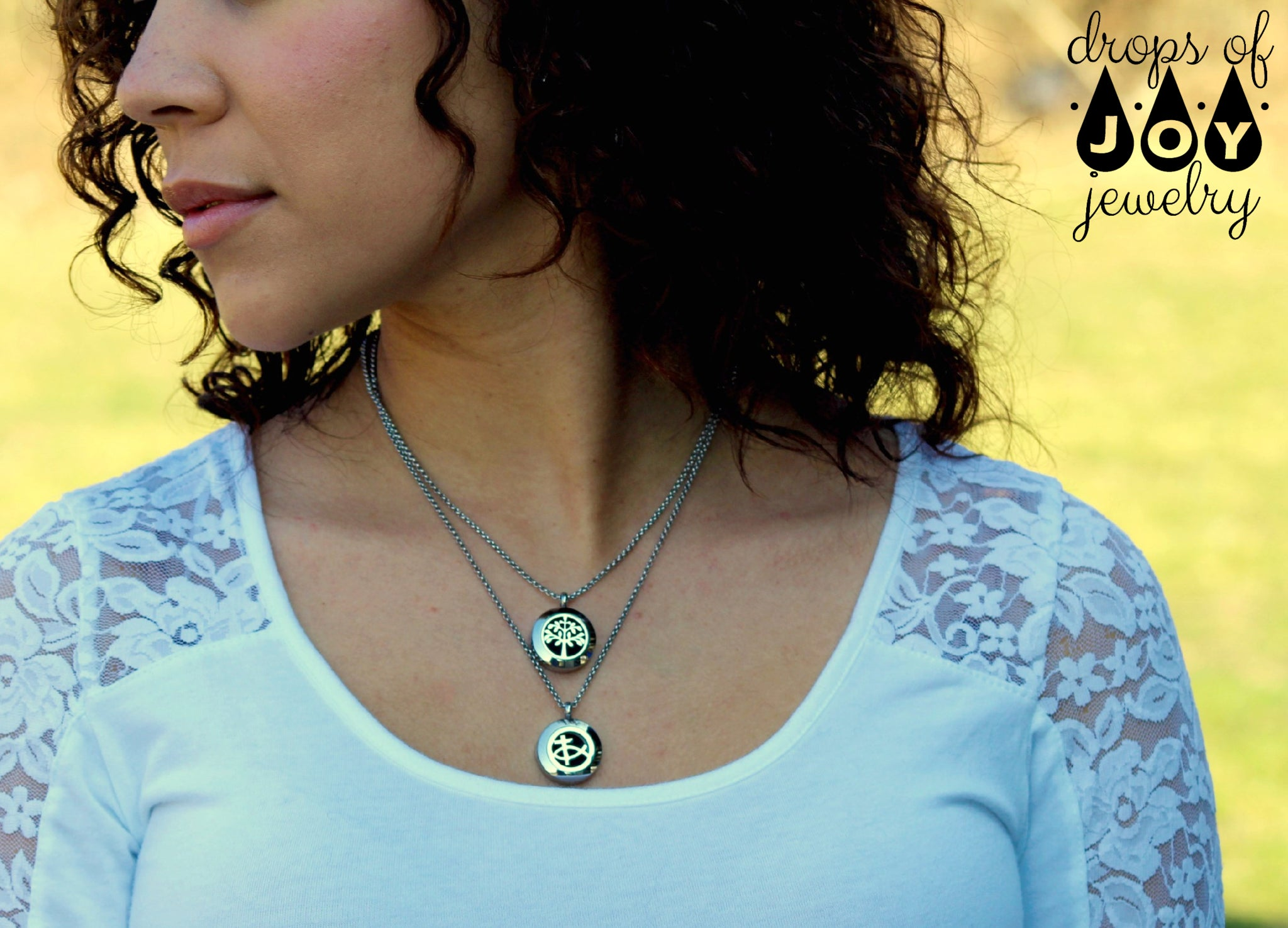 Diffuser Necklace - Eden Restored - Drops of Joy Jewelry - 2