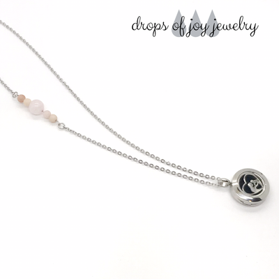 Mother & Child Diffuser Necklace