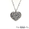 Artsy Heart Diffuser Necklace