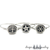 Bangle Locket Diffuser Bracelets