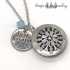 Just Breathe Custom Diffuser Necklace
