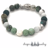 Color Me Irish Lava Diffuser Bracelet