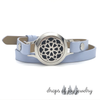 Dynamic Flower Diffuser Wrap Bracelet - Color choice