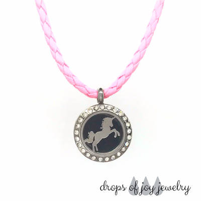 Unicorn Diffuser Necklace