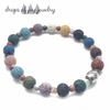 All Around the World Multicolor Lava Stone Diffuser Bracelet