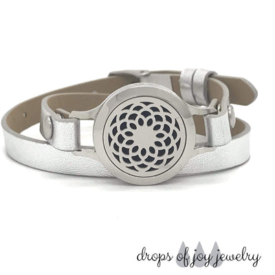 Infinity Diffuser Wrap Bracelet - Color choice