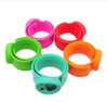 Kids Smiley Face Silicone Essential Oil Bracelet (Color Options)