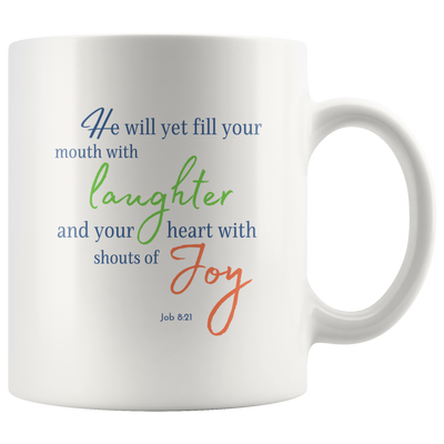 Laughter and Joy Mug - Size Options