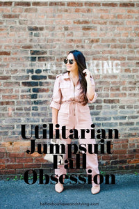Utilitarian Jumpsuit Fall Obsession