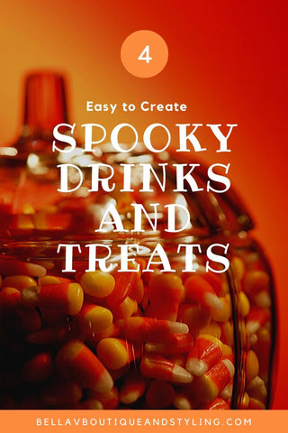 Bella V Boutique Spooky Drinks and Treats