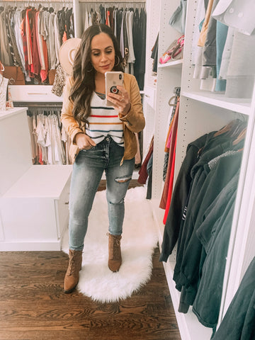Bella V Boutique Early Spring Outfits