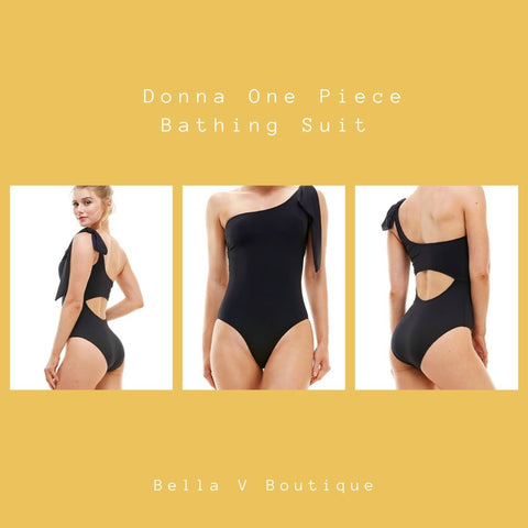 Bella V Boutique One Piece Sleek Swimsuit