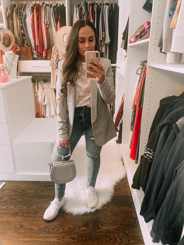 Bella V Boutique How to Transition Your Wardrobe While It's Still Cold Out