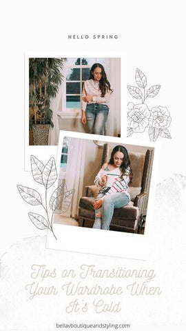 Bella V Boutique Easy Steps to Transition Your Wardrobe from Winter to Spring