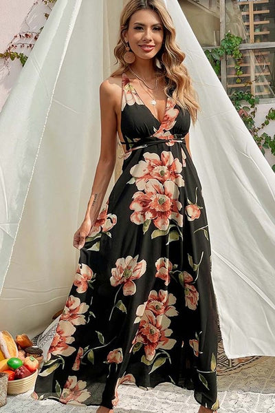 Bella V Boutique Flowy Maxi Dress for Vacation