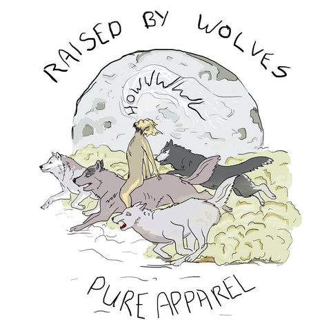 Raised by Wolves Hoody full colour