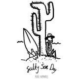 Salty Sea Dog #04 - Long Sleeve - pure apparel and surf