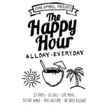 The Happy Hour - Long Sleeve - pure apparel and surf