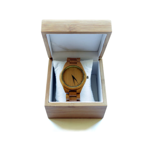 Bamboo watch, Natural