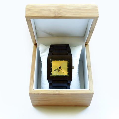 Ebony Watch, Square