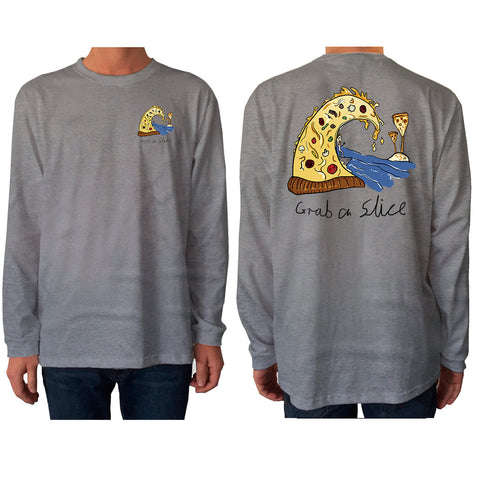 Grab a Slice Longsleeve Full Colour