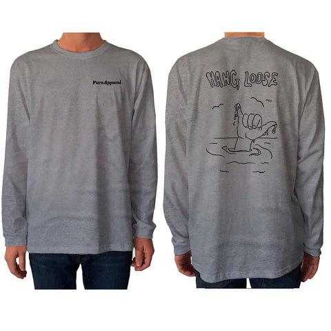 Hang Loose - Long Sleeve - pure apparel and surf