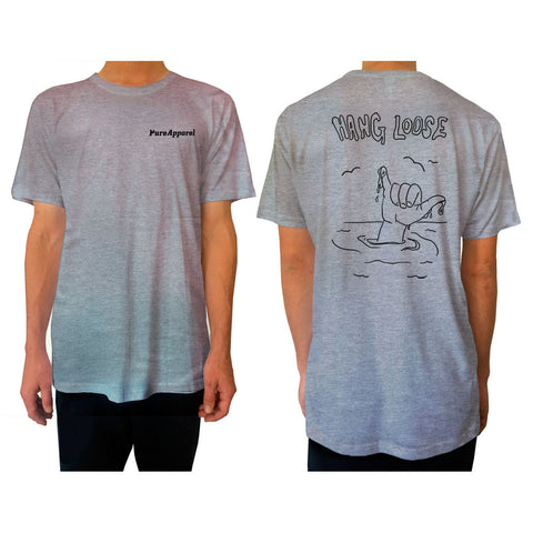 Hang Loose - Tee - Grey