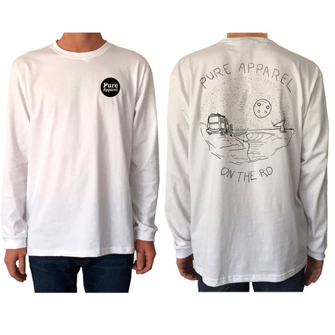 On The Rd - Longsleeve - White