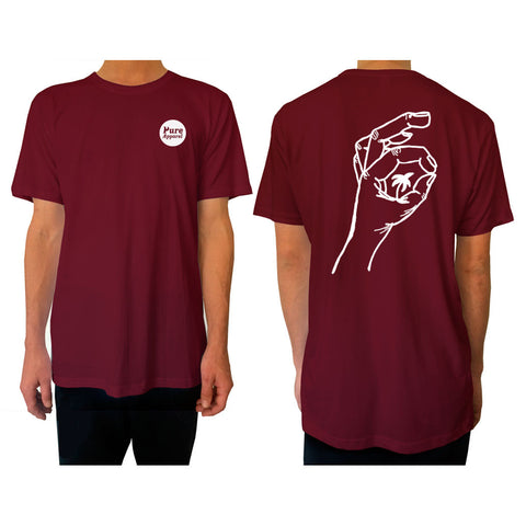 Palm of my Hand - Tee - Burgundy