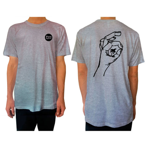 Palm of my Hand - Tee - Grey