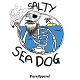 Salty Sea Dog #03 (Full Colour) - Tee - pure apparel and surf