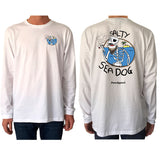 Salty Sea Dog #03 (Full Colour) - Long Sleeve - pure apparel and surf